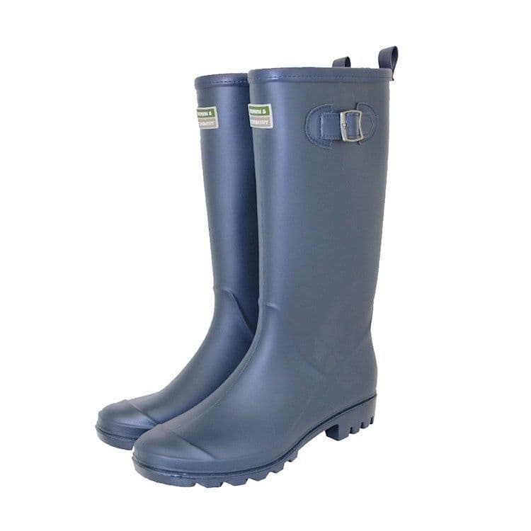 Town & Country The Burford Wellies Navy - Size 7
